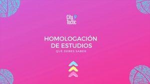 Homologación de estudios de colegio para estudiar en España